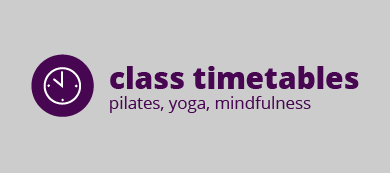 pilates and yoga timetable OX17