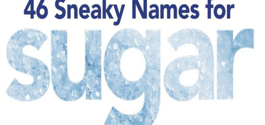 Sneaky Names For Sugar