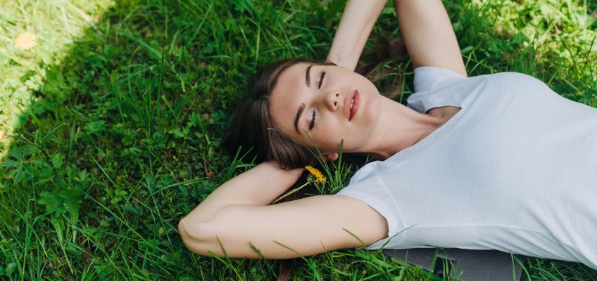 Summer Siesta Girl Relaxing