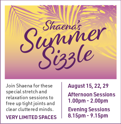 Summer Stretch and relaxation sessions in Banbury