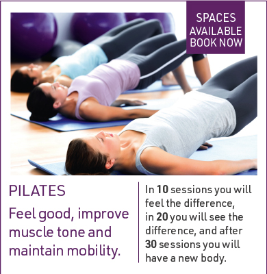 Pilates Course places available September