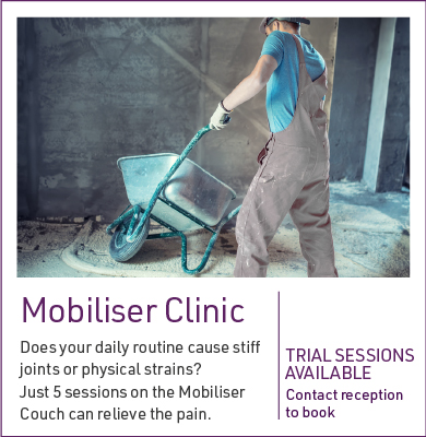 Mobiliser Clinic at The Core Zone