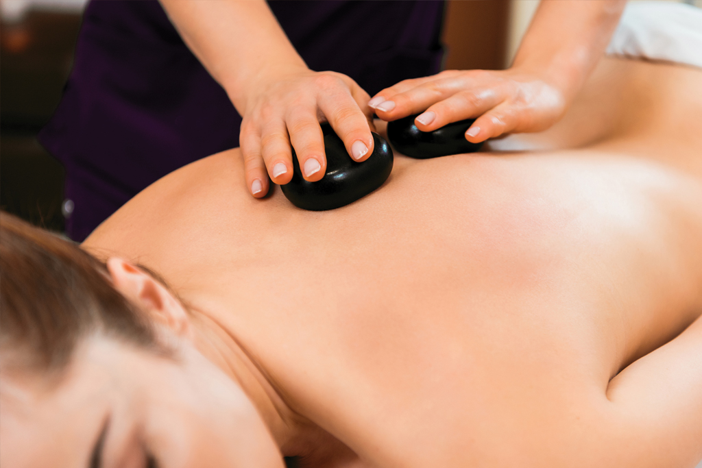 Signature Treatments hot stone massages